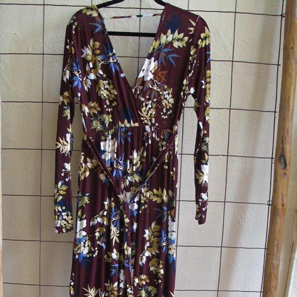Jessica Simpson Dresses & Skirts - JESSICA SIMPSON Maxi Floral Maternity Dress